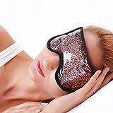 Augenmaske Kühlend Kälte- & Wärmetherapie Kühlkissen Gel Kühlmaske Schlafmaske Kühlbrille für...