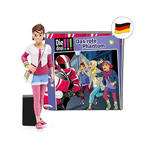 tonies Hörfiguren für Toniebox - Die DREI!!! - Das rote Phantom - ca. 69 Min. - Ab 8 Jahre -DEUTSCH