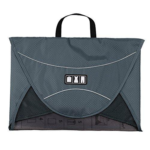 Bags-mart Porta abiti, Porta camicie da viaggio, per trasportare camicie in condizioni perfette (grigio)