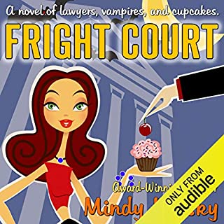 Fright Court audiobook cover art