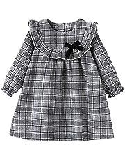 LittleSpring夏 女の子 ガールズ かわいい レース ワンピース 花柄 ジャンパースカート サマードレス