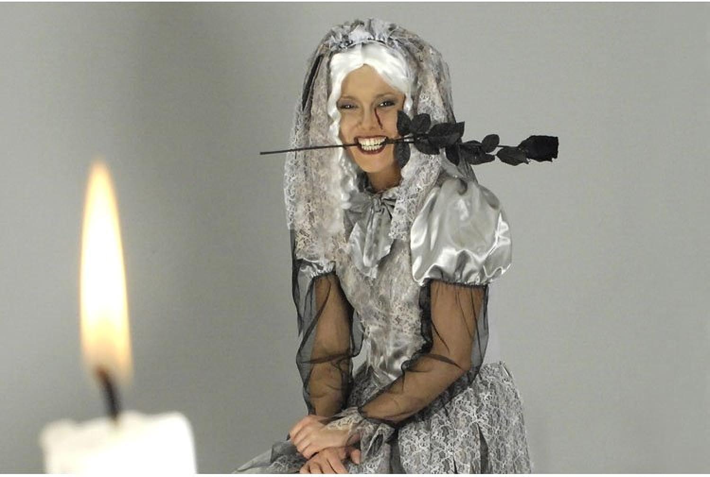 Adult Costume Dress  zombie bride   size (german specification) 4042