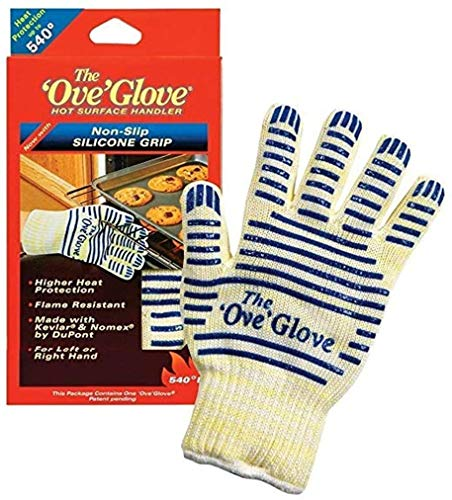 Yuns Quality Ove Glove Hot Surface Handler,oven Mitt (Set of 2),2 Pack,flame Resistant,as Seen on Tv Shop