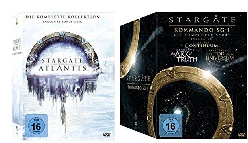 Stargate Atlantis Komplettbox + Stargate Kommando SG-1 Komplettbox / DVD Box Set