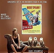 73606 I, The Jury Movie 1982 Thriller Drama Decor Wall 47x35 Huge Giant Poster Print