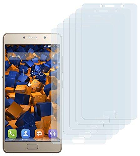 Preisvergleich Produktbild mumbi Schutzfolie kompatibel mit Lenovo P2 Folie klar,  Displayschutzfolie (6X)