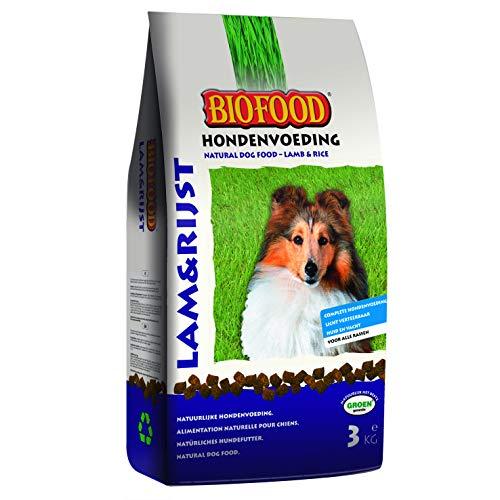 Croquettes Agneau et Riz Biofood - 3kg - Chien