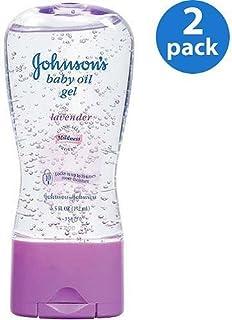 Johnson\'s - Lavender Baby Oil Gel,  6.5 oz,  2-Pac