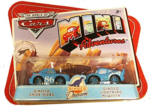 Disney CARS Mini Adventures Dinoco Dream Team 2-Pack King and Dinoco Lightning McQueen