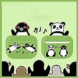 YTO Estuche para Auriculares inalámbricos Apple, Air pods 1/2 / Pro, Original, Parodia, pingüino