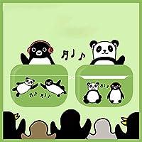 Appleワイヤレスヘッドフォンケース、エアポッド1/2 / Pro、オリジナル、なりすまし、ペンギン