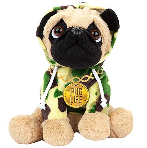 Kamparo Peluche para perros en diseño de camuflaje, 20 cm, color verde