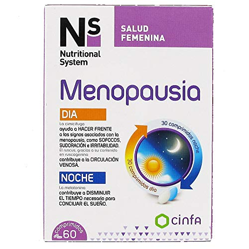ns menopausia dia/noche 60 comprimidos de cinfa