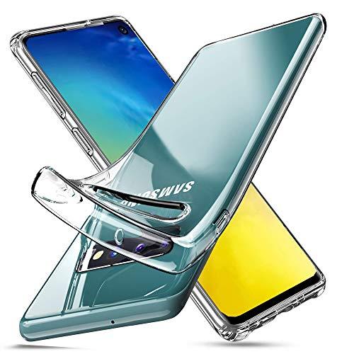 Galaxy S10 Hülle, Samsung Galaxy S10 Hülle, [Fusion] klare Rückseite TPU Gel Hülle [Fallschutz/Stoßdämpfung] für Samsung Galaxy S10