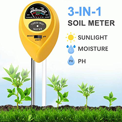 Learn More About Soil Testers 3-in-1 Soil Test Kit for Moisture, Light & pH, A Must Have for Home an...
