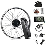 """Season 28"""" 36V350W Rear Wheel Cassette Electric Bicycle Motor Conversion Kit with HaiLong 36V13Ah Lithium-ion Battery for E-Bike Cycling"""