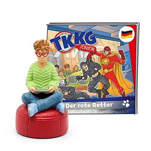 tonies Hörfiguren für Toniebox, TKKG Junior – Der rote Retter, Hörspiel für Kinder ab 5 Jahren, Spielzeit ca. 61 Minuten