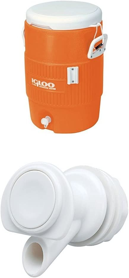 Igloo 5 OFFicial Ranking TOP14 store Gallon Seat Top Beverage plus with replacemen spigot Jug