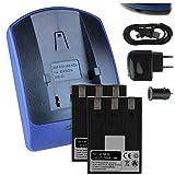 2 Baterìas + Cargador (USB/Coche/Corriente) para Canon NB-3L / IXUS i, i5, II, IIs, 700, 750 / Powershot SD10 SD20, SD550. - Ver Lista