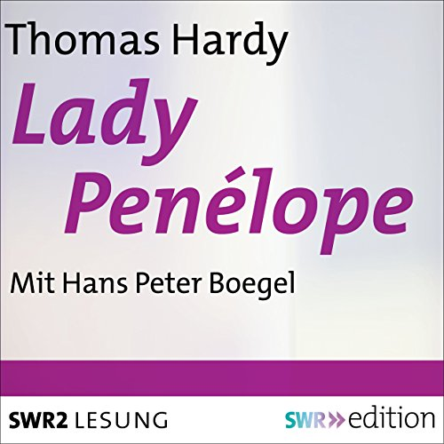 Lady Penélope audiobook cover art