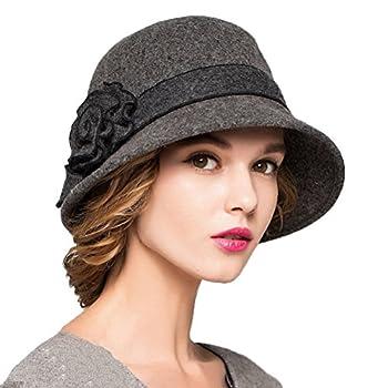 gray bowler hat