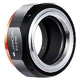M42-FX Adaptador Lentes,K&F Concept Cámara Adaptador para Lentes de Montura M42 a Cámara Fujifilm Montura FX, Lens Mount