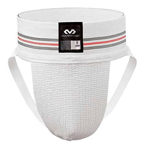 McDavid 3110 Classic Two Pack Athletic Supporter, White, Large