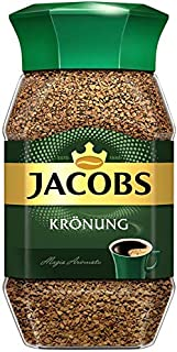 Jacobs Kronung Instant Coffee 100 Gram / 3.52 Ounce (Pack of 2)