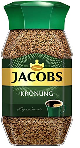 Jacobs Kronung Instant Coffee 200 Gram / 7.05 Ounce (Pack of 2)