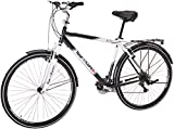 Tour de Cure Men's Hybrid Bike, 700C, Black,...