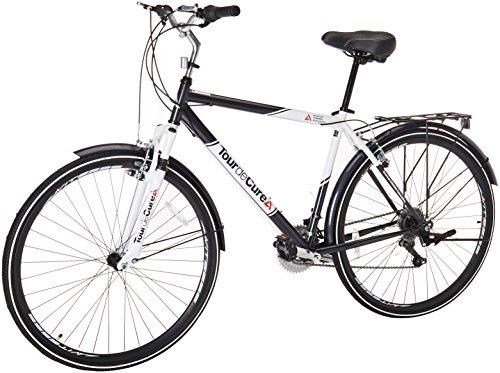 Tour de Cure Men's Hybrid Bike, 700C,...