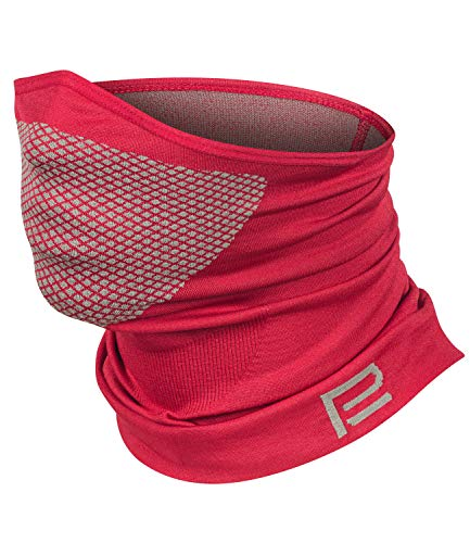 Máscara facial de esquí Xtreme 2.0 para motocicleta, máscara de protección bucal para mujer, hombre, niños, mascarilla para tormentas (rojo, M/L)