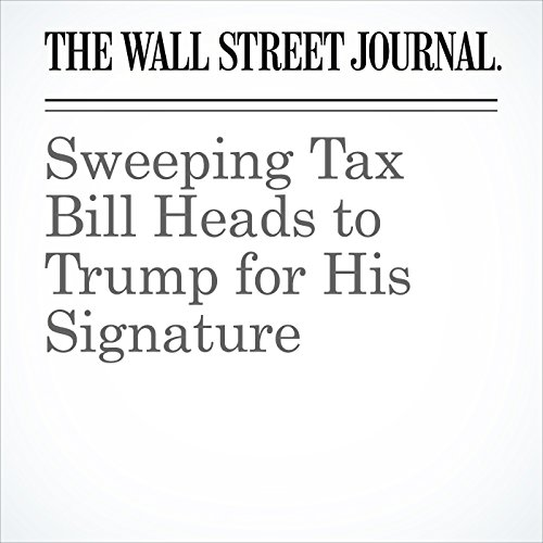 Sweeping Tax Bill Heads to Trump for His Signature copertina