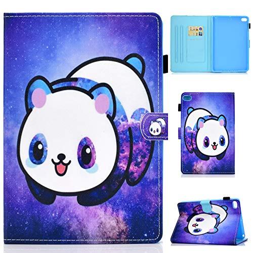 AUSMIX iPad Mini 5 2019 5th Gen Case iPad Mini 4 2015 Cover,PU Leather Smart Wallet Case Slim Flip Auto Wake Sleep Shell Protective Stand Cover Case for iPad Mini 5/4/3/2/1 7.9'',Star panda