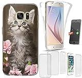 CoverHeld Hülle für Huawei Y5 2019 Motiv 1251 Baby Katze Kätzchen Premium Hülle Silikon Fullbody 360 Grad R&um SchutzHülle Softcase HandyCover Hülle für Huawei Y5 2019
