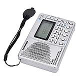KKmoon-1 K607 Portable Radio AM/FM/SW/TF Pocket Radio MP3 Digital Recorder Support TF Card