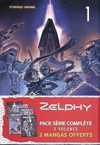 Zelphy Pack série complète Tomes 1 à 5