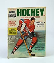 Maurice Richard's Hockey Illustrated Magazine, Volume 1, Number 12, January (Jan.) 1963 - Jean Beliveau Cover Illustration