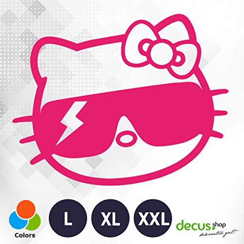 Decus Hello Kitty GAGA L 0034 (rosa) // Sticker OEM JDM Style Aufkleber