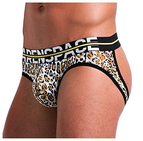 Arjen Kroos Jockstrap Suspensorio Sexy Tanga para Hombre Slips Ropa Interior Impreso Thong lencería Deporte