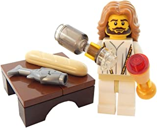 LEGO Christmas Jesus Christ Water Wine and Bread Fish Toy - Custom Easter Christian Bible Minifigure