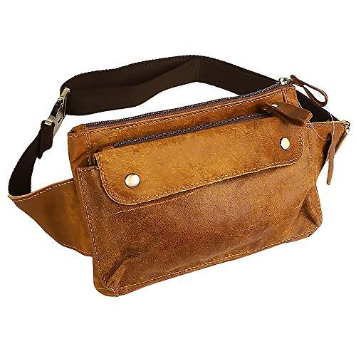Petzilla Genuine Leather Waist Bag Fanny Pack