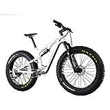 IMUST Malamute, 120mm Full-Suspension, Carbon Fat Bike with 11-Speed XT Drivetrain and Rockshox Bluto Fork 16/18/20 inch