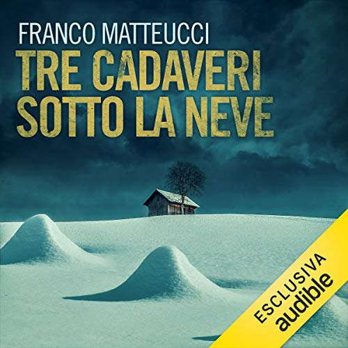 Tre cadaveri sotto la neve audiobook cover art