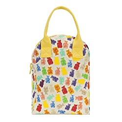 Fluf gummy bear lunch bag lunch box for kids lunchbox zipper lunch school lunch kids lunch bag insulated