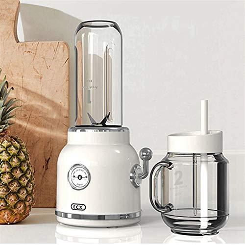 ZGQA-GQA Home Elektrische Juicer Mixer Multifunctionele Smoothie Milkshake Baby Voedsel Fruit Retro Juice Maker Machine…
