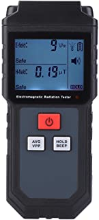 Radiation Detector, RZ825 Digital Dual Purpose Electromagnetic Field Radiation Tester Handheld EMF Meter Dosimeter with LCD Display