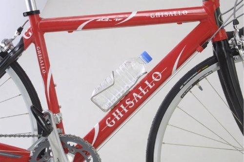 ミノウラ(MINOURA)自転車ペットボトルケージ/ドリンクホルダーPC-500ペットケージ・ミニ2500ml入りPETボトル用ケージブラック<アルマイト仕上げ>