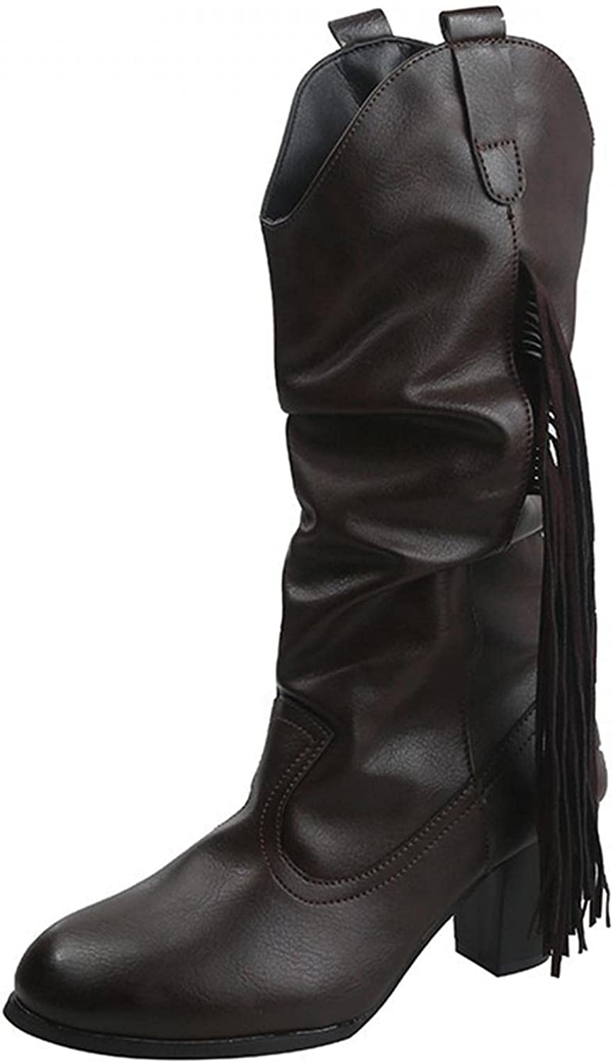 KAIGE Boots for Women cheap Tassel Fashion Ankle New arrival Eth Pointed Toe