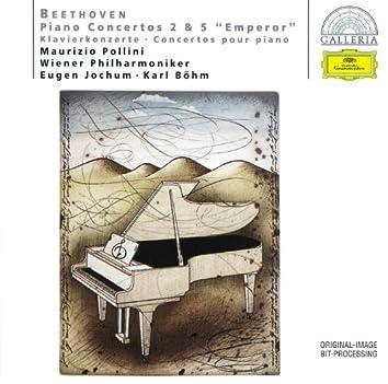 """Beethoven: Piano Concertos Nos.2 & 5 """"Emperor"""""""